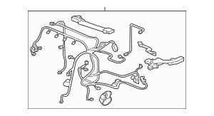 2012-2015 Honda CIVIC HYBRID SEDAN Wire Harness, Engine
