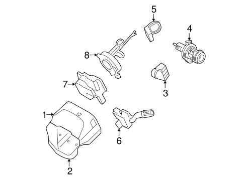 IGNITION LOCK for 2010 Ford Focus