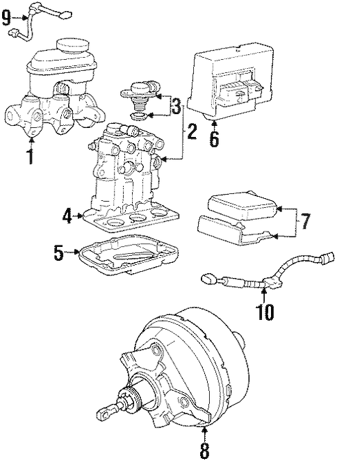 1998 Oldsmobile Intrigue 3 8 Engine Diagram