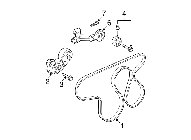 Hummer H3 Serpentine Belt Diagram
