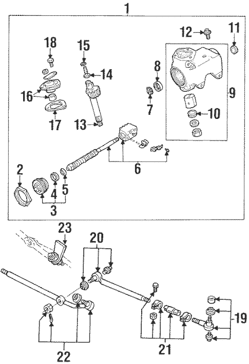 Steering Gear & Linkage for 1999 Ford E-150 Econoline