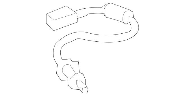 2005-2010 Honda ODYSSEY 5-DOOR Cable, Slide Door Stopper