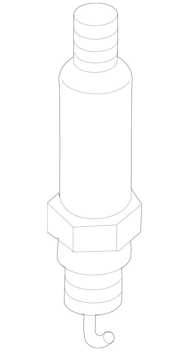 Genuine OEM Spark Plug Part# 12681663 Fits 2002-2012 GM