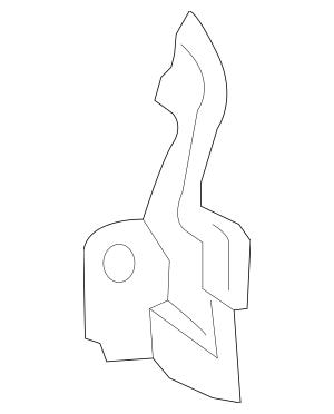2016-2017 Honda CIVIC SEDAN Stiffener, R Rear Panel Side