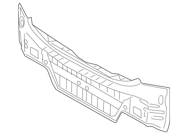 2017-2018 Kia Cadenza Rear Body Panel 69100-F6000