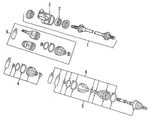 Ford Probe 2 5 V6 Engine 2.5L I4 Duratec Engine wiring