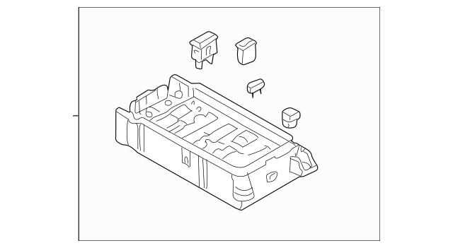 Genuine OEM Fuse Box Part# 0K52Y-66760 Fits 2002-2005 Kia