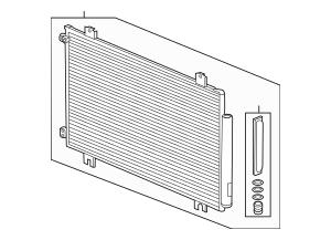 Discount Genuine OEM Honda Condenser Assembly 80100-THR