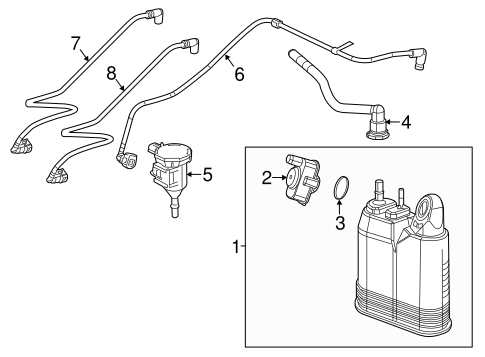 EMISSION COMPONENTS for 2012 Jeep Grand Cherokee