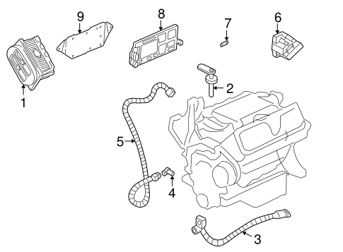IGNITION SYSTEM for 2003 Buick Century