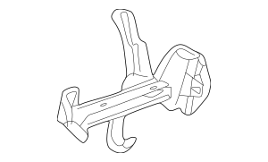 1994-2000 Mercedes-Benz Lower Support Support 202-620-14