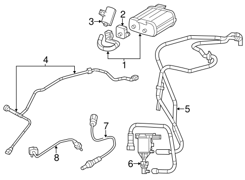 EMISSION COMPONENTS for 2014 Dodge Avenger