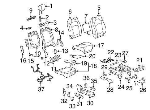 HEATED SEATS Parts for 2009 Buick Enclave