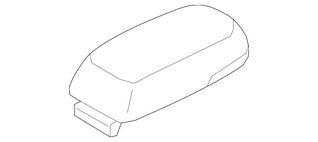2014-2015 Hyundai Tucson Armrest 84660-2SBA0-RMK