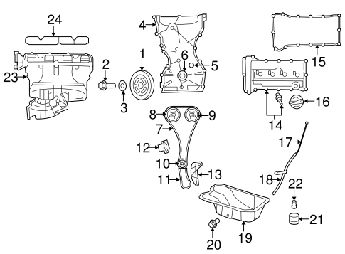 Dodge FUEL SYSTEM INTAKE parts for a 2014 Dodge Avenger