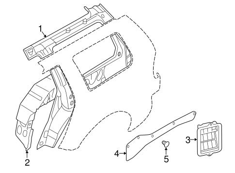 Inner Structure for 1998 Mitsubishi Montero Sport