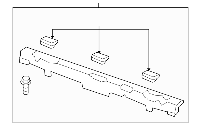2006-2014 Honda RIDGELINE SEDAN Lining Assembly, Rear