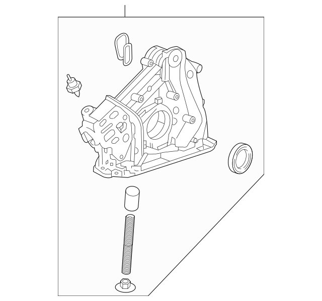2009-2014 Acura Pump Assembly, Oil (Yamada) 15100-RKG-003
