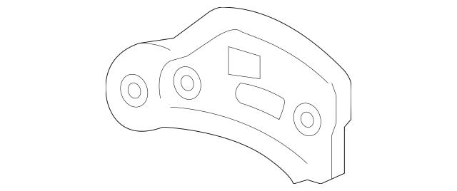 2014-2019 Toyota Highlander Fender Mtg Bkt Plate 53717