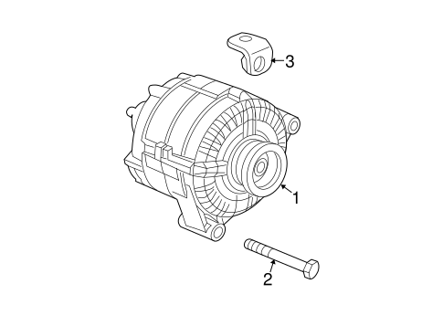 Alternator Parts for 2005 Chevrolet Equinox