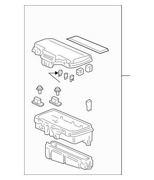 2005-2008 Honda PILOT 5-DOOR Box Assembly, Relay 38250-S9V
