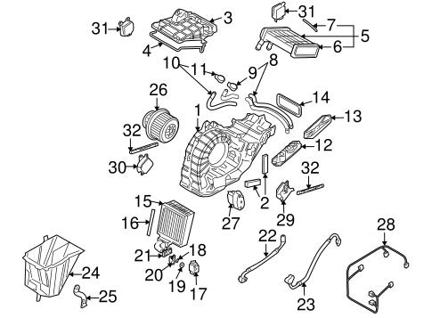 Audi Q7 Parts Diagram