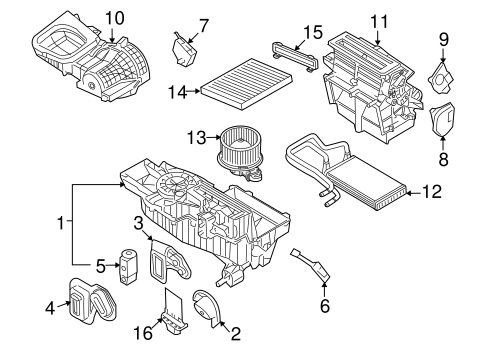 Service manual [2008 Ford Taurus Heater Core Replace