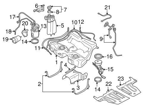 Fuel Pumps & Related Components for 2002 Audi TT Quattro