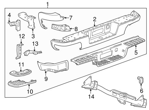 TRAILER HITCH COMPONENTS for 2016 Chevrolet Colorado