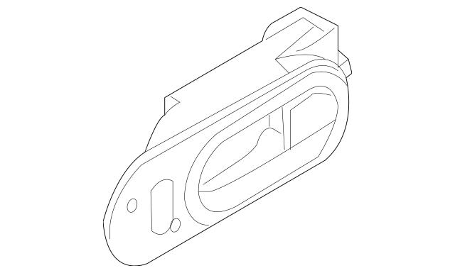 2007-2009 Mazda CX-7 Handle, Inside EG22-59-330A-02
