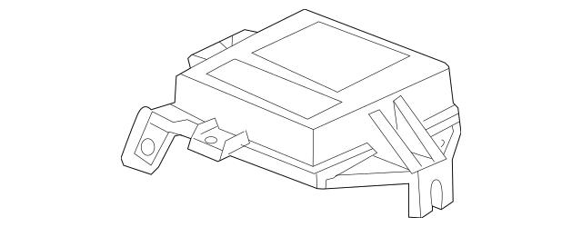 2001 Honda ACCORD SEDAN SRS Unit (Siemens) 77960-S84-A94