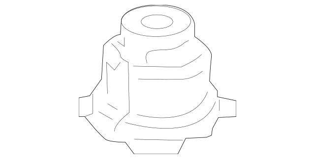 2009-2014 Acura TL SEDAN Rubber, Rear Sub-Frame Mounting