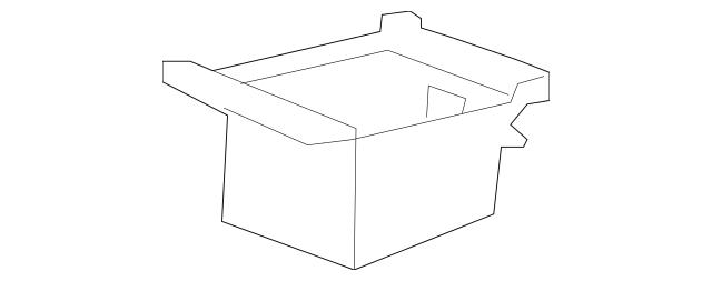 2007-2009 Acura MDX 5-DOOR Box, Console (Auxiliary) 83427