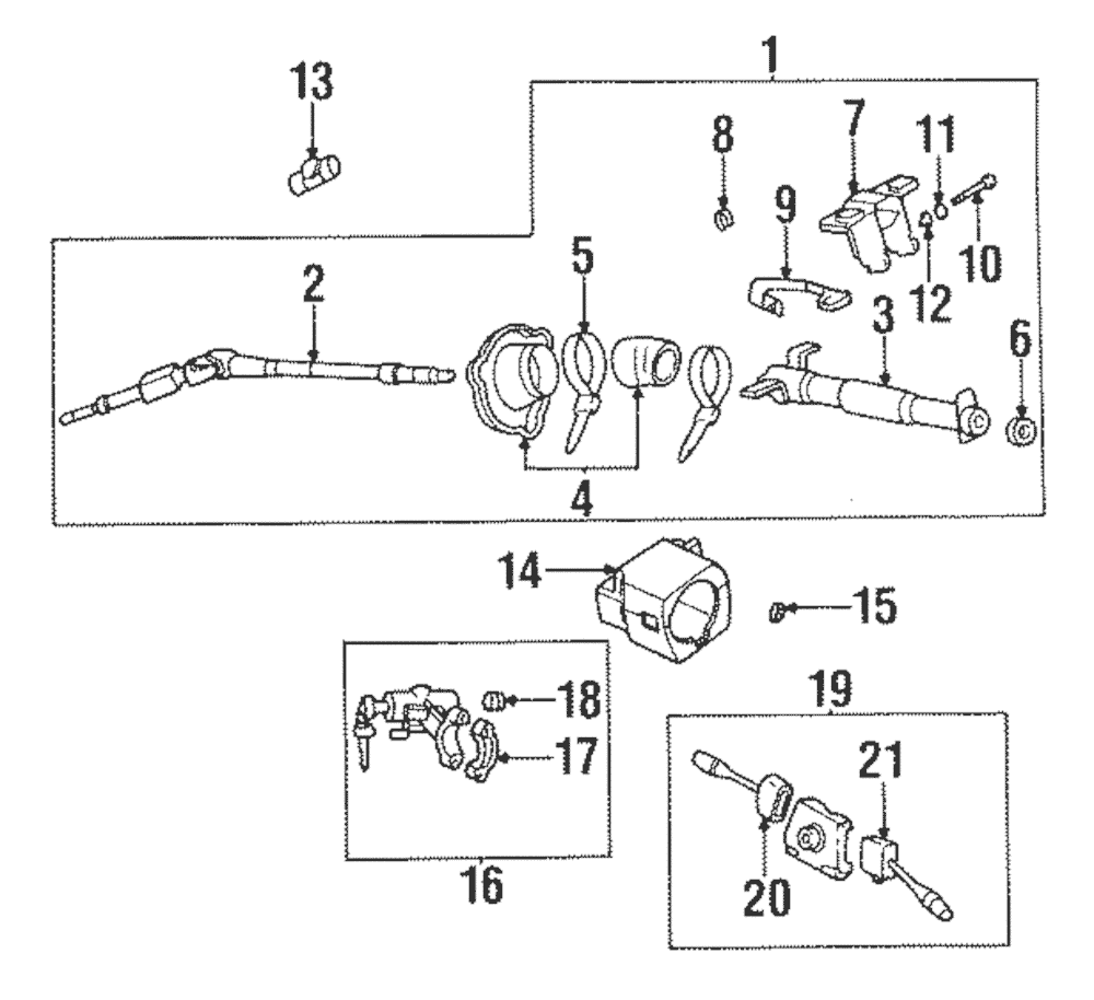 1995 Nissan Pickup Ignition Switch Diagram : 95 Nissan