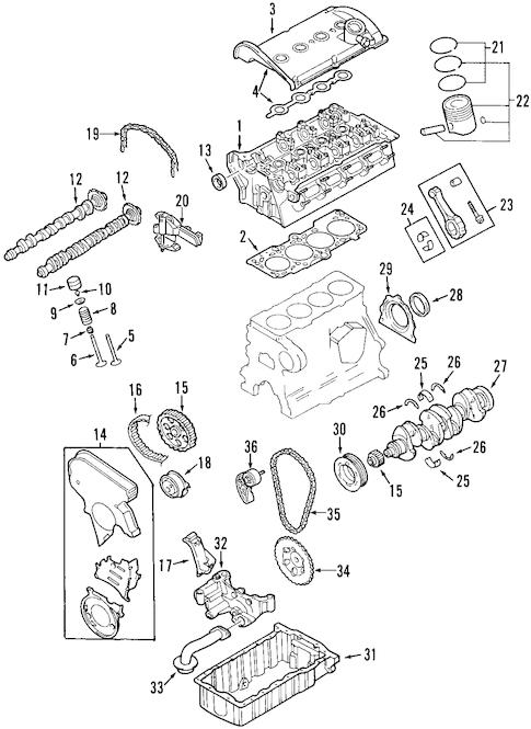 Engine for 2002 Audi TT