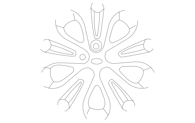 Genuine OEM Wheel Cover Part# 52960-1M000 Fits 2010-2013