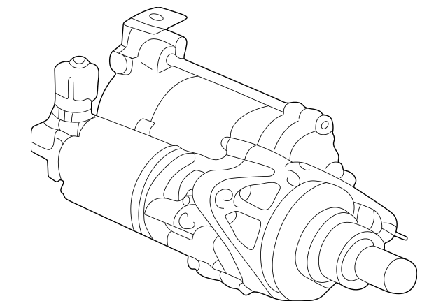 Genuine 1998-2000 Honda Starter Motor Assembly (Sm-44210