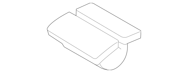 1998-2020 Volvo Radiator Support Splash Shield Clip