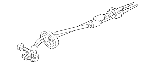 2015-2018 Chevrolet Sonic Manual Transmission Shift Cable