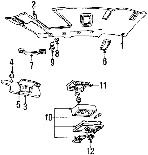 Moonroof for 1997 Lincoln Town Car