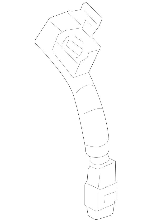 2014-2015 Chevrolet Camaro Camshaft Sensor Wire 12654614