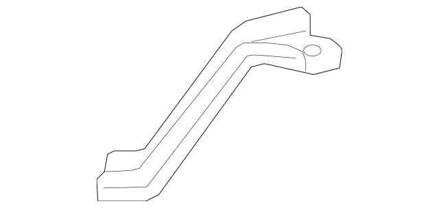2013-2018 Acura RDX 5-DOOR Stiffener, Steering Rack 50220
