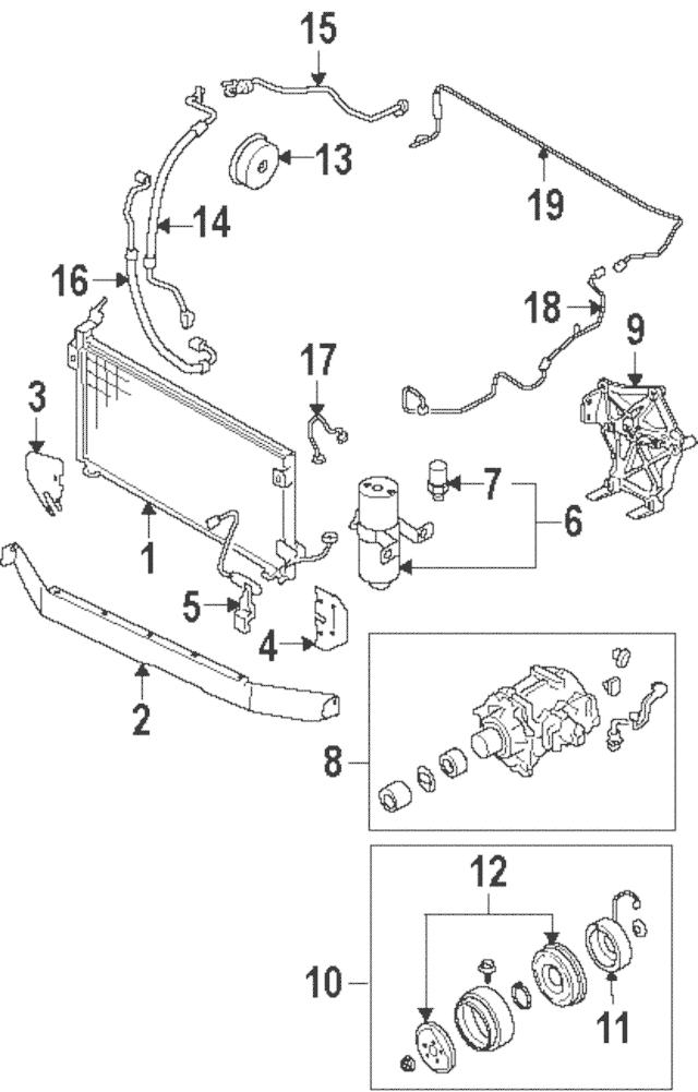 Genuine OEM Clutch Coil Part# MR500246 Fits 2000-2004