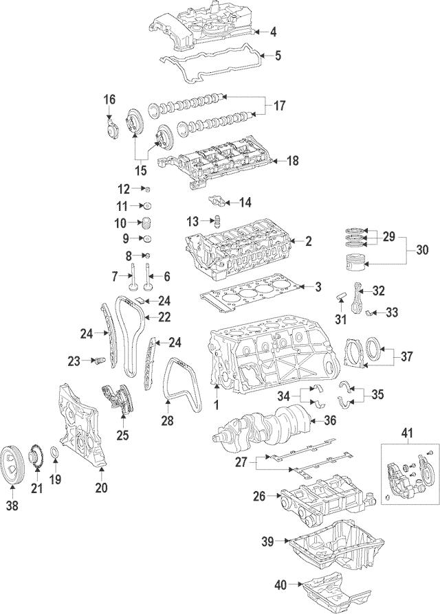 2012-2015 Mercedes-Benz C 250 Oil Pump 271-180-08-01