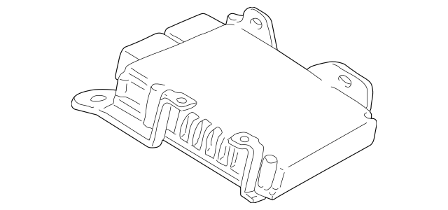 2007-2009 Chrysler PT Cruiser Control Module R5187762AA