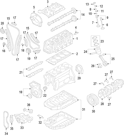 Audi A3 Engine Mount Diagram
