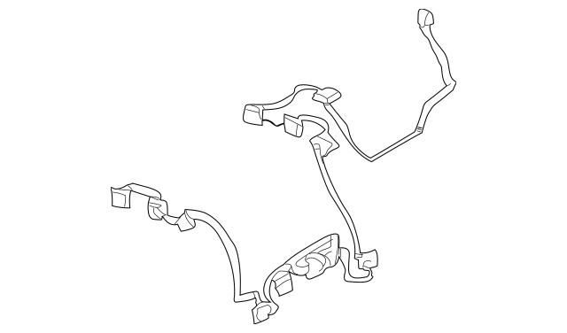 2000-2006 Mercedes-Benz HVAC System Wiring Harness 220-830