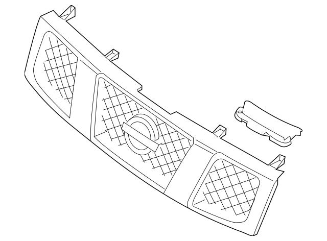 2008-2015 Nissan Titan Grille Assembly 62310-ZR30E