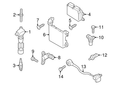 Genuine OEM Mazda Ignition Parts