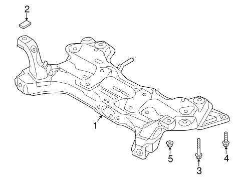 Veloster Front Suspension/Suspension Mounting Parts
